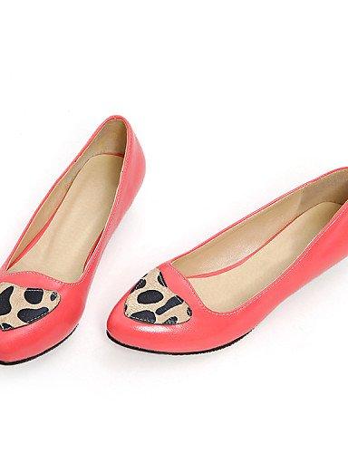 f631f8f177 Jitong Zq & scarpe da donna in similpelle tacco basso ballerina ...