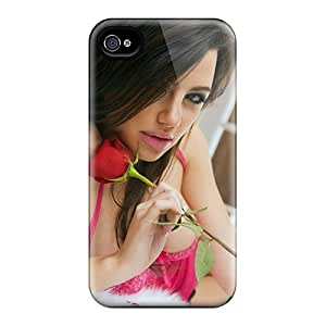High Grade Purecase Flexible Tpu Case For Iphone 4/4s - Hot
