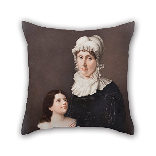 Cushion Cases 18 X 18 Inches / 45 By 45 Cm(twin Sides) Nice Choice For Lover Drawing Room Dining Room Home Office Club Oil Painting Friedrich Till - Lucretia Elizabeth -