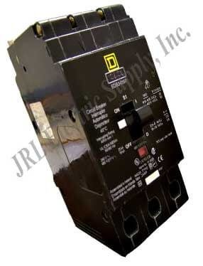 Bolt On Circuit Breaker 3P 40 Amp 277/480Vac/125/250Vdc by Square D