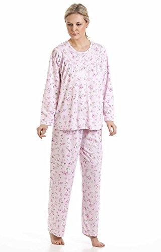 De flores de Kuddle mujer polialgodón en flor de sifón sea pijamas de pijama punto con pom y 57417 Rosa