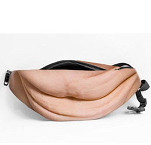 Nynoi beer belly fanny pack prime hairy women bobby Belly Fanny Pack Dad bag Funny Bags for iPhone Samsung Case color 3 Undercover Camisole
