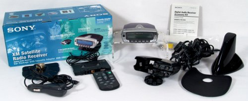 Sony Cradle Radio (Sony DRN-XM01C XM Satellite Radio Receiver)