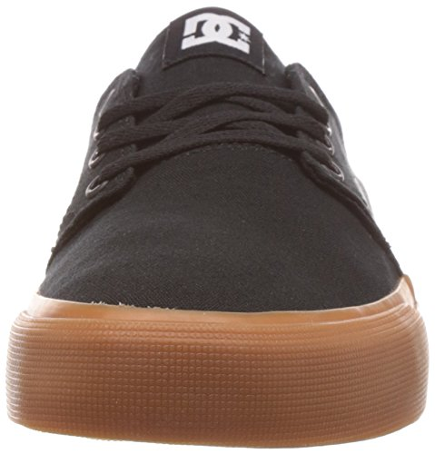 DC Shoes Trase Tx - Zapatillas para hombre, color black/gum, talla 42.5