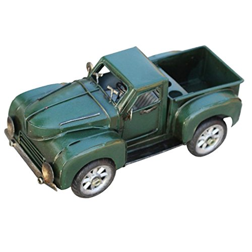 Model 2 Miniature (MagiDeal Welly 1953 Chevrolet 3100 Pick Up Truck - Vehicle Miniature Model - Antiqued Table Ornament Figurine Gift #2)