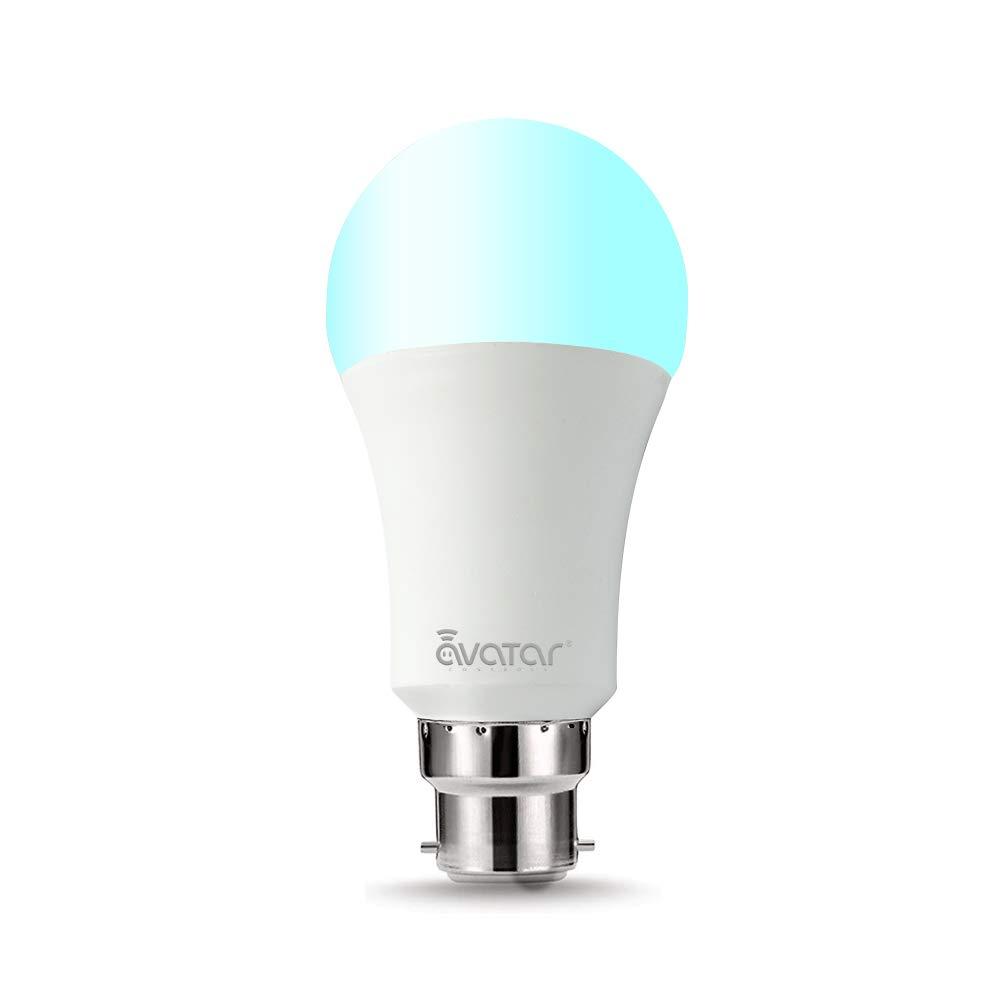 Wifi Smart Birne, Avatar Controls B22 LED Dimmbare Lampe 7W RGB Glü hbirne Kompatibel mit  Alexa Google Home IFTTT Funktioniert Ohne Hub