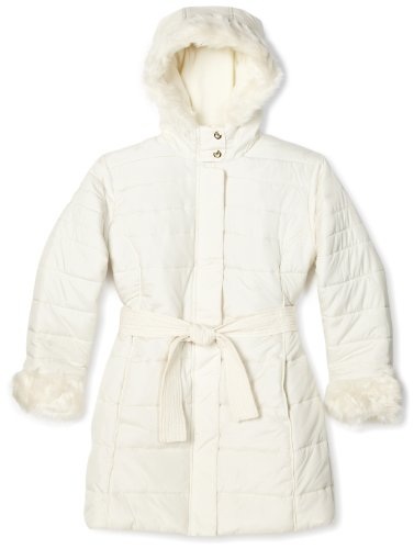 Big Chill Big Girls'  Long Belted Jacket