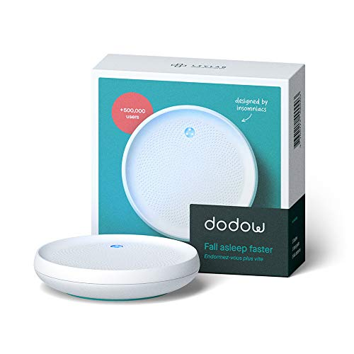 🥇 Dodow- Metrónomo Luminoso Para Ayudarte a Conciliar el Sueño Más Rápido – Blanco