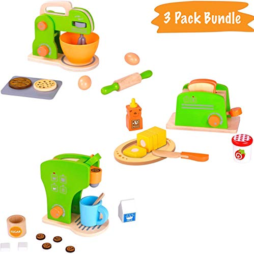 Pidoko Kids Toy Kitchen Accessor...