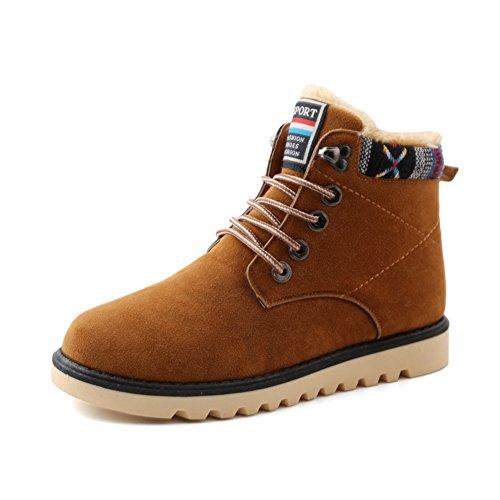 Zapatos de algodón acolchado-caliente/zapatillas de deporte casuales antideslizantes/Hombres zapatos de moda B