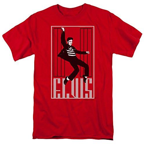 Elvis Presley - One Jailhouse Rock - Adult T-Shirt - Large