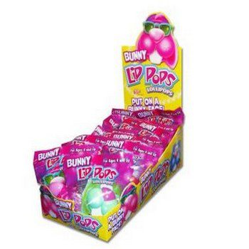 Easter Bunny Lip Pop Party Accessory ()