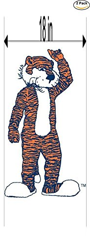 iversity Vinyl Sticker Decal Logo NCAA 2 Window Stickers 18 Inches ()
