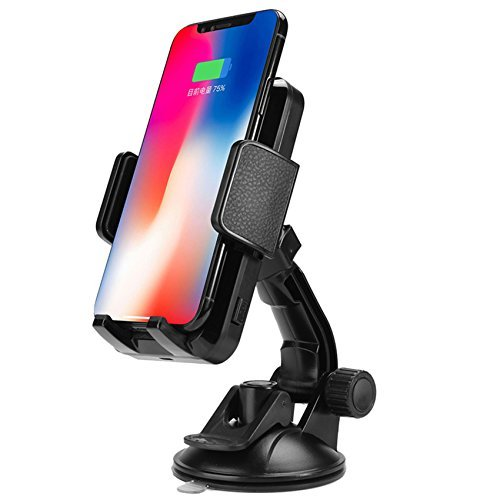 S7 LG G6 and All Qi-Enabled Devices 4348713384 FutureCharger Qi Wireless Phone Charger Wireless Car Charging Suction Mount Cell Phone Holder for X XS XS max XR 8//8Plus Galaxy note9 note8 S9 S9 S8 S8