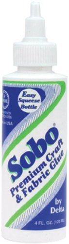 Sobo Premium Craft & Fabric Glue-4 Ounce Size: 4 Ounce Model: 654703 Office Supply Product Store