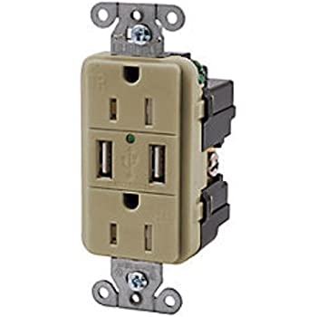 hubbell wiring systems usb15x2w usb receptacle ... hubbell usb wiring diagram usb to usb wiring diagram