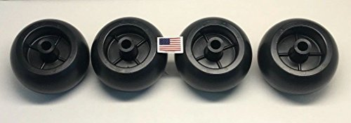 Parts 4 Outdoor 4USA MADE EXMARK TORO KUBOTA ANTISCALP DECK WHEELS 68-2730 K5371-42110 1-603299 1716353