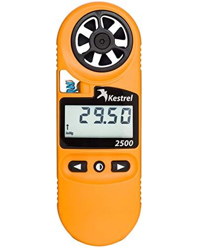 Kestrel 2500 Pocket Weather Meter, Orange