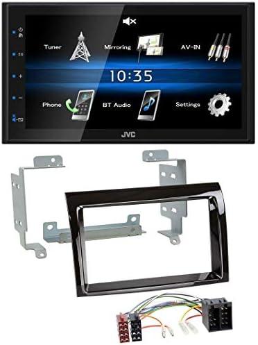 Jvc Kw M24bt Double Din Bluetooth Mp3 Aux Usb In Car Elektronik
