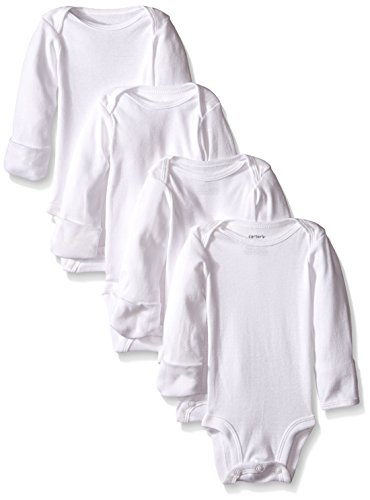 Carters Unisex Baby 4 Pack Bodysuits