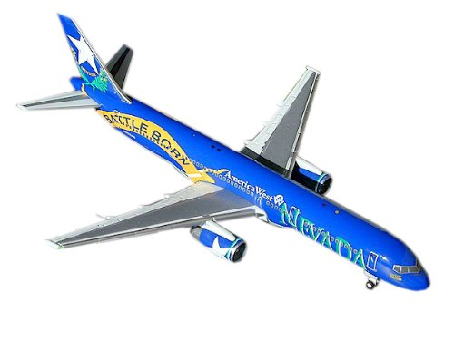 Gemini Jets America West (Battle Born) B757-200 1:400 Scale (West Airlines America Gemini)