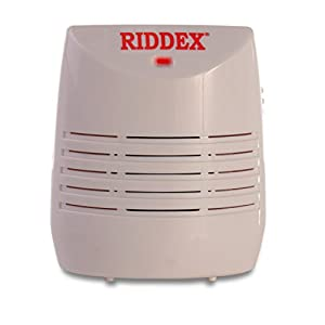 Riddex Wireless Pest Repeller - Get Rid of Roaches, Rats and Mice. Non-Toxic, Uses Ultrasonic Technology