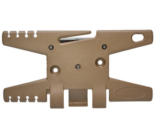 ParaCord Spool Tool (Coyote)- Holds Up To 100' of Parachute (Parachute Tool)