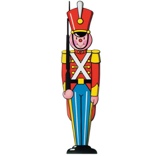 Soldier Cut Out - Toy Soldier Cutout Party Accessory (1 count) (1/Pkg)