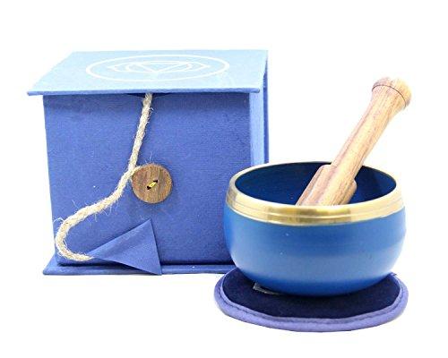 Tibetan Third Eye Chakra, 6th Chakra, Singing Bowl Gift Set #5