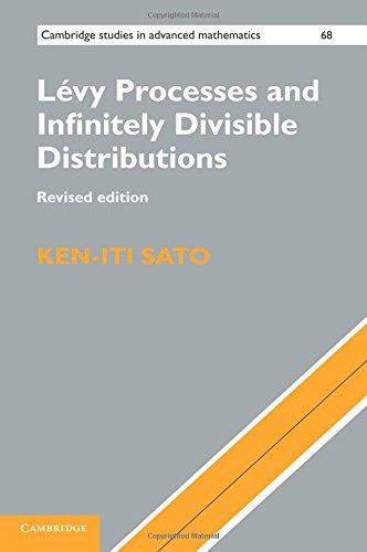 Lévy Processes and Infinitely Divisible Distributions (Cambridge Studies in Advanced Mathematics)