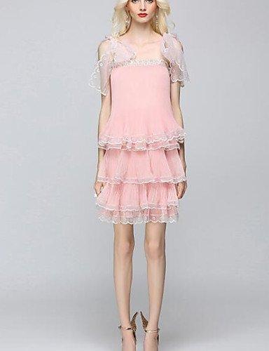 Amazon.com : JIALELE Dress Vintage, Dress Plus Size, Dress ...