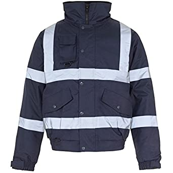 NEW MENS FLYING BOMBER WATERPROOF TWO TONE TAPED QUILT LINED WITH HOOD JACKET