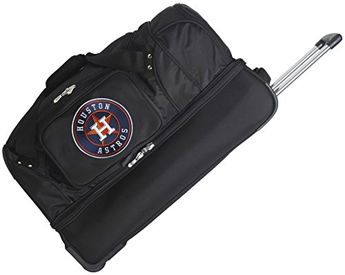 MLB Houston Astros Rolling Drop-Bottom Duffel by Denco