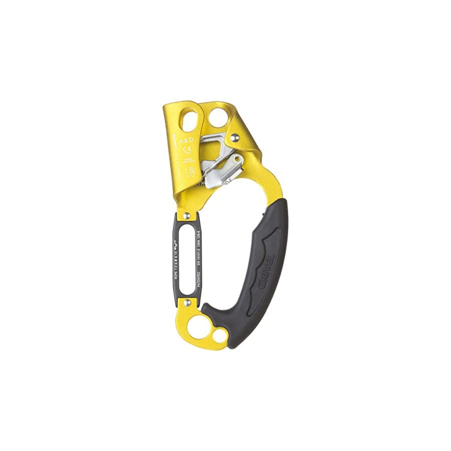 Grivel Up & Down Ascender Gold, Right