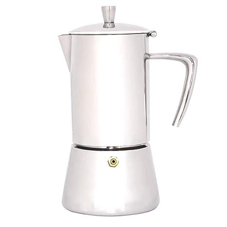 Kimmyer Cafetera Espresso, cafetera Espresso Italiana, máquina de café Espresso de Acero Inoxidable para