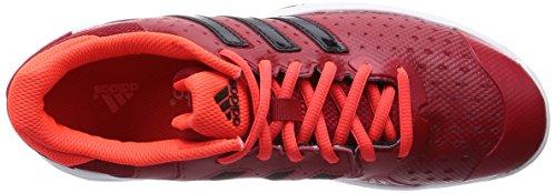 adidas Barricade Team 4 XJ - Zapatillas de tenis para niño Rojo / Negro / Naranja