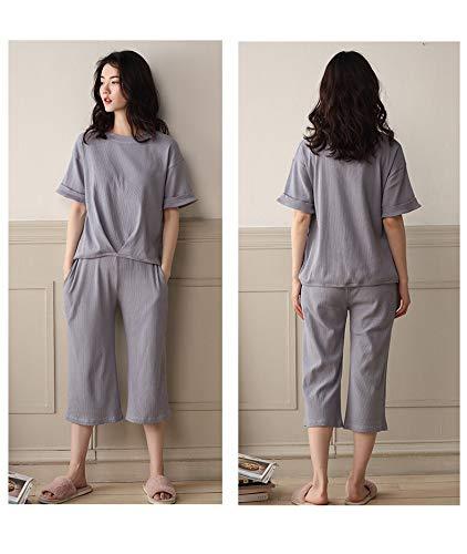 Servicio De Domicilio Xxl Conjunto Cortos Sueltos Pantalones Para Portátil Mujer Baujuxing A Algodón M Llevar Pijamas qatw6O1P