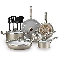 14-Piece T-fal Initiatives Ceramic Nonstick Cookware Set