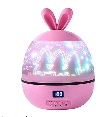 Surenhap - Lámpara Infantil con proyector de Conejo (LED ...