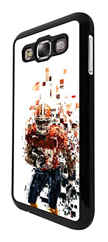 1790   American Sport Football Player Super Bowl Design For Samsung Galaxy E5 Fashion Trend Case Back Cover Plastic Thin Metal   Black