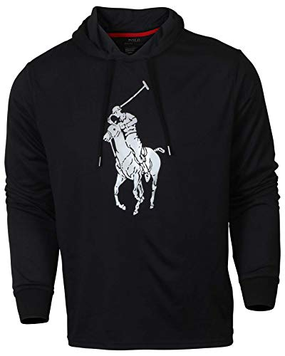 Polo Ralph Lauren Mens Hooded Big Pony Graphic T-Shirt
