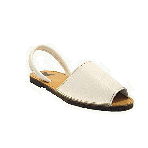 15090 - Sandalias ibicencas blanco