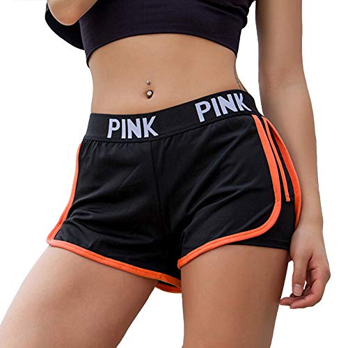 PeaceCake Women Running Shorts 2-in-1 Double Layer Elastic Waistband Sport Shorts No-Chafing Quick Drying Breathable…