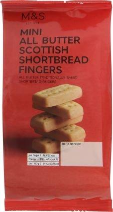 Marks & Spencer M & S Mini All Butter Scottish Shortbread Fingers by Marks & Spencer