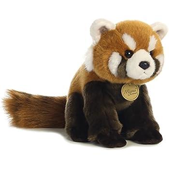 Amazon Com Aurora World Miyoni Red Panda Plush Toys Games