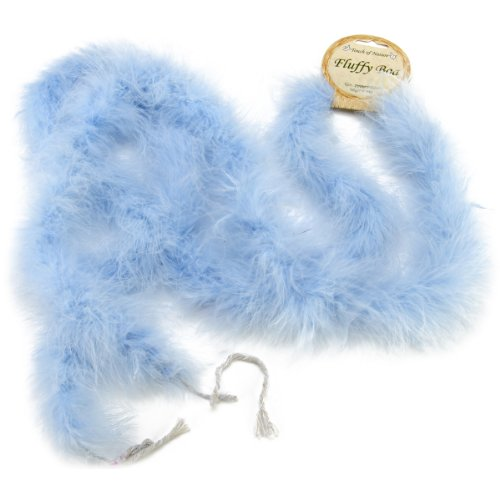 UPC 684653380049, Touch of Nature 38004 Fluffy Boa, Light Blue