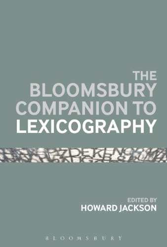 Download Bloomsbury Companion To Lexicography (Bloomsbury Companions) Pdf