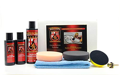(WolfgangTM Plastic Headlight Lens Cleaning System)