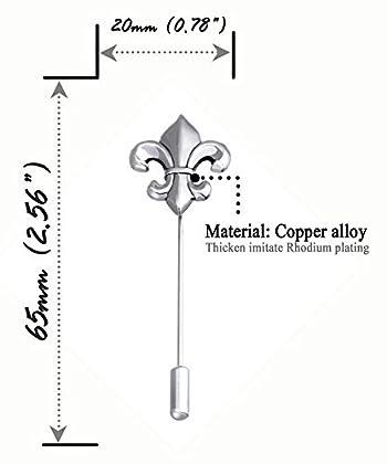 Boutonniere Suit Lapel Stick Brooch Pin