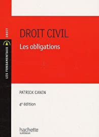 Droit civil : Les obligations par Patrick Canin